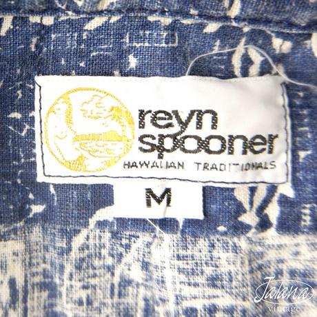 70年代初期レインスプーナー/reyn spooner アロハシャツMサイズ(A-070)