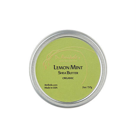 LEMON MINT SHEA BUTTER (2oz/57g )