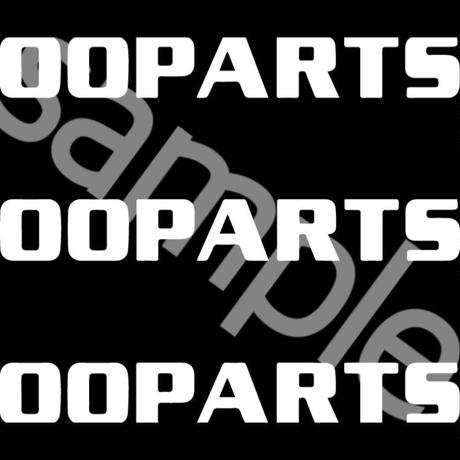 「OOPARTS」スウェット / 005 (black)