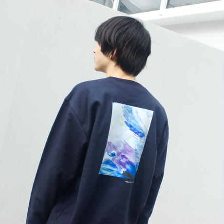 「OOPARTS」スウェット / 004 (navy)