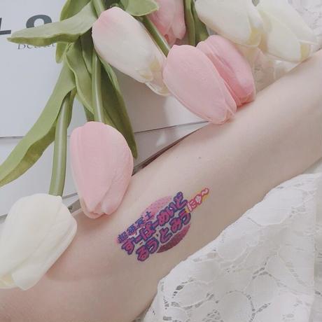タトゥーシール ロゴセット&文字