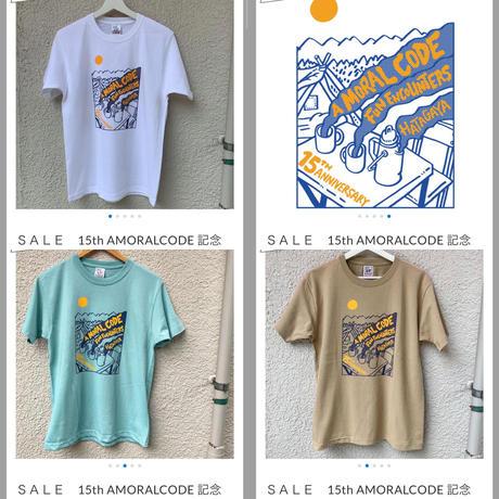 SALE 15th AMORALCODE 記念Tシャツ@hugo