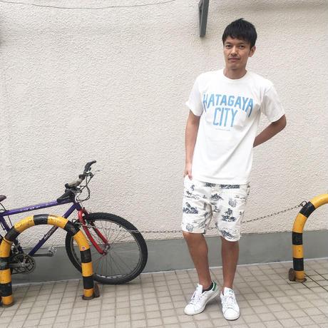 幡ヶ谷hatagaya city Tシャツ