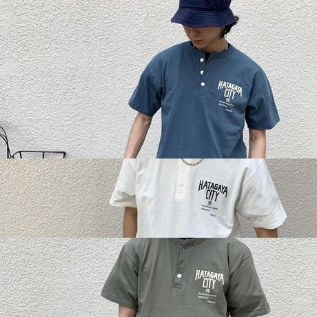 渋谷区コラボhatagayacity  ヘンリーネックT