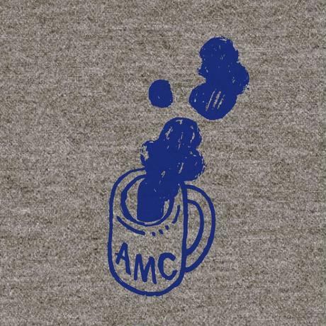 先行予約 hugo yoshikawa  AMC coffee sweat gray