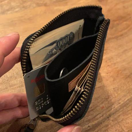 オリジナル上質レザーハンドメイドL ZIP Wallet