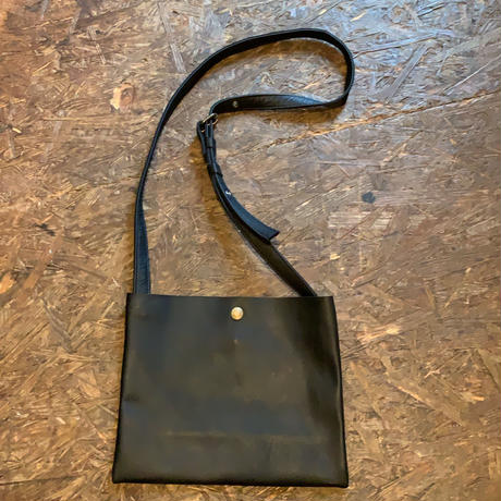 handmade leatherサコッシュ amoralcode original