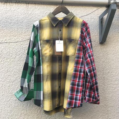 amoralcode 別注リメイクネルシャツ