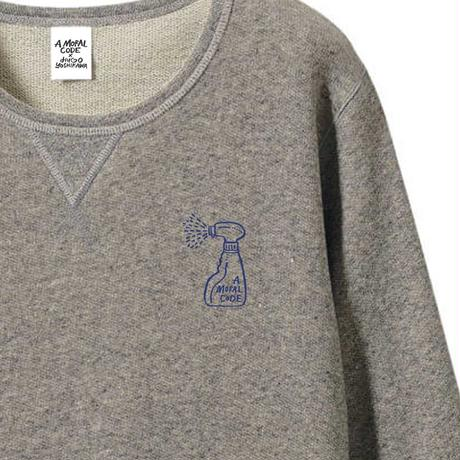 先行予約 hugo yoshikawa  AMC spray sweat gray
