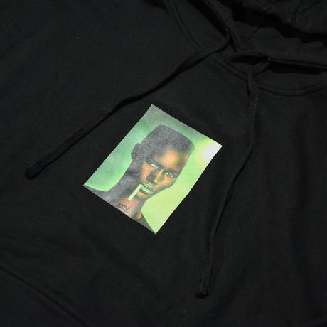 RAD YO / SLIME PHOTO PULLOVER HOODIE /BLACK_GREEN