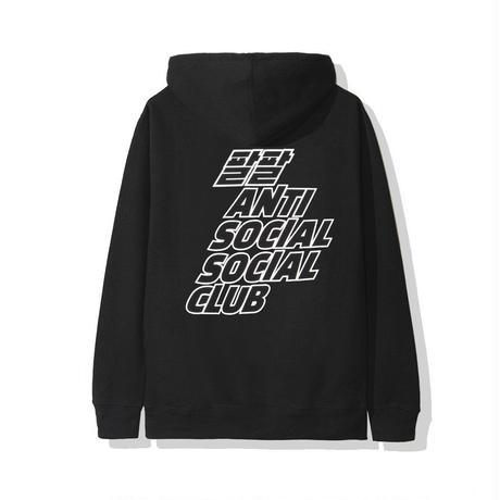 ANTI SOCIAL SOCIAL CLUB / MIDNIGHT CLUB HOODIE  BLACK