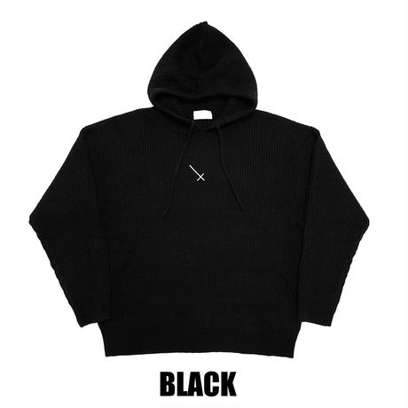 COMP®︎EX / X KNIT PULLOVER HOODIE