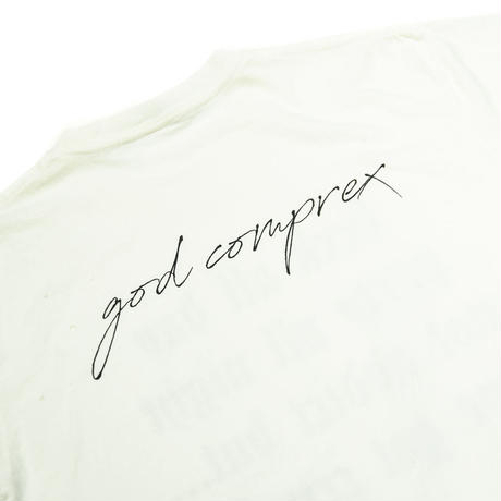 COMP®EX / SS TEE FUCK ALL DAY  / WHITE