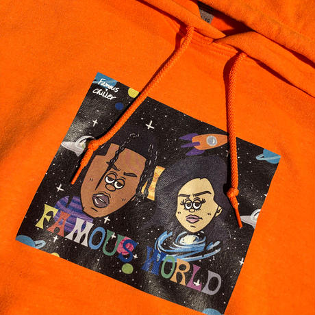 WORLD wide FAMOUS / PULLOVER HOODIE KJTS