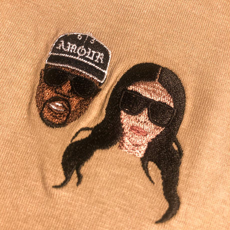WORLD wide FAMOUS ×AMOUR / SS TEE KIMYE AMOUR