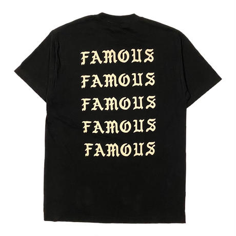 WORLD wide FAMOUS / FACE FRAMING KIMYE TEE