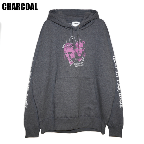 AMOUR / PULLOVER HOODIE REST IN PEEP