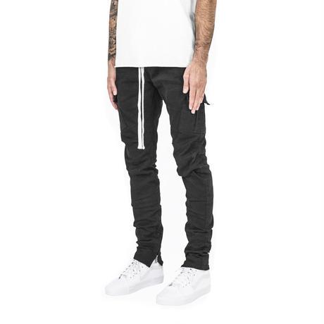 mnml  CARGO DRWCORD PANTS / BLACK