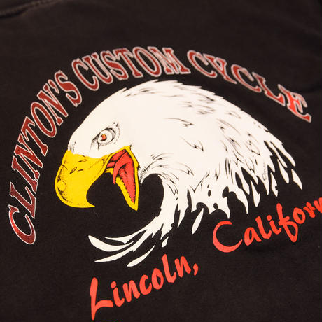 AMOUR VINTAGE LONG SLEEVE TEE / BLACK