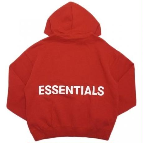 ESSENTIALS BOXY GRAPHIC PULLOVER HOODIE