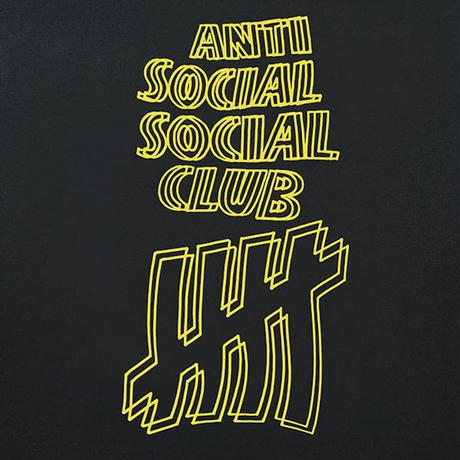 ANTI SOCIAL SOCIAL CLUB / UNDEFEATED × ASSC HOODIE