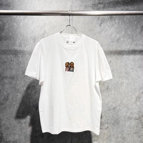 WORLD wide FAMOUS × AMOUR SS TEE SMOKE