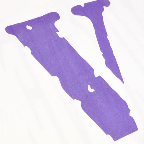 VLONE  LOGO TEE /  WHITE_PURPLE