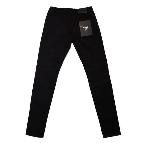 OTHER UK / STRIPE JEANS / BLACK_RED