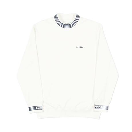 PALACE / P-RIB CREW / WHITE