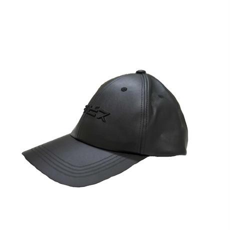 FAKE LEATHER TRAVS CAP
