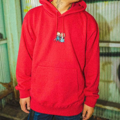 WORLD wide FAMOS × AMOUR / PULLOVER HOODIE CHILD PLAY