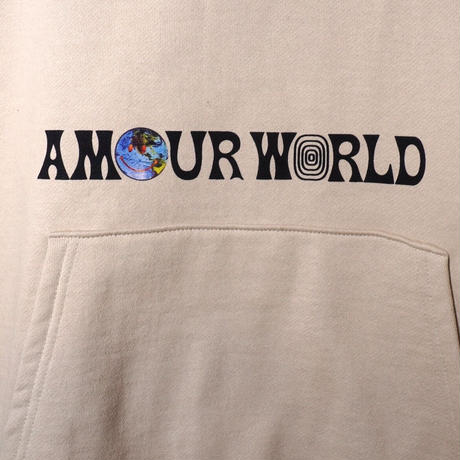 AMOUR / PULLOVER HOODIE SMILE AMOUR WORLD