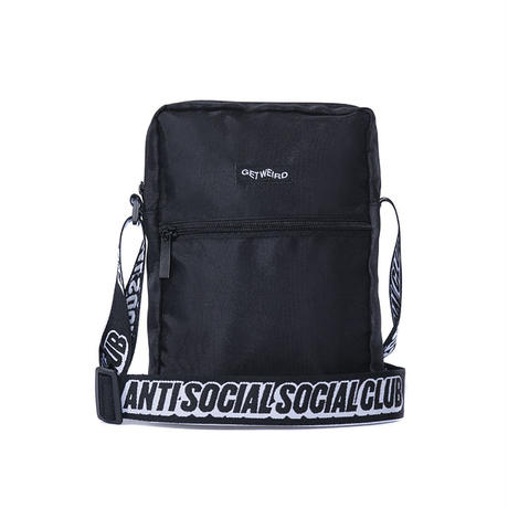 ANTI SOCIAL SOCIAL CLUB SIDE BAG / BLACK