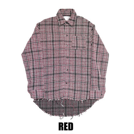 TWEED OVER SHIRT