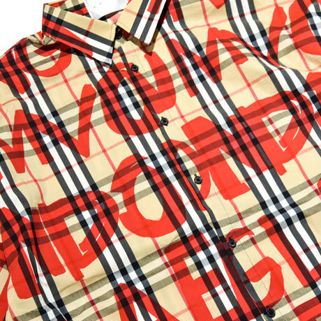 AMOUR / PAINTED CHECK SS SHIRTS