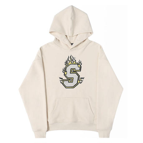 SUPPLIER / FIRE LOGO HOODIE / 2color