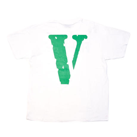 VLONE  FRIENDS TEE / WHITE_GREEN