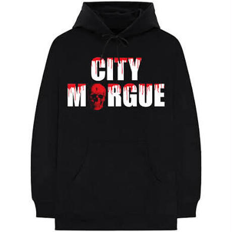 VLONE × CITY MORGUE / DOGS HOODIE