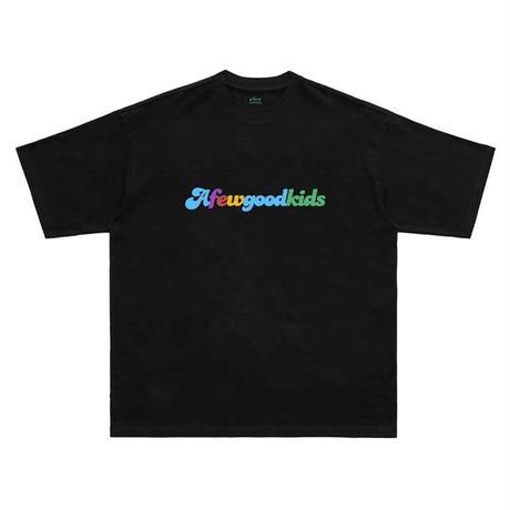 A FEW GOOD KIDS / RAINBOW LOGO TEE
