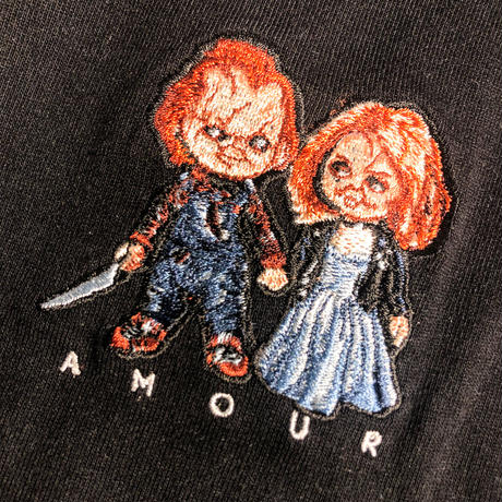 WORLD wide FAMOUS × AMOUR SS TEE CHILD PLAY