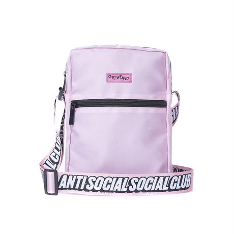 ANTI SOCIAL SOCIAL CLUB SIDE BAG / PINK