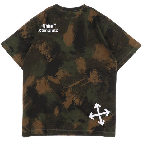 OFF-WHITE PAINT BRUSH CAMOU S/S OVER ALL OVER