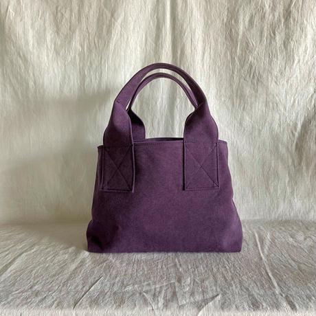 canvas tote bag (purple)