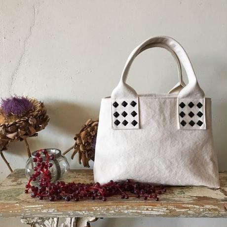 canvas tote bag mini (white)