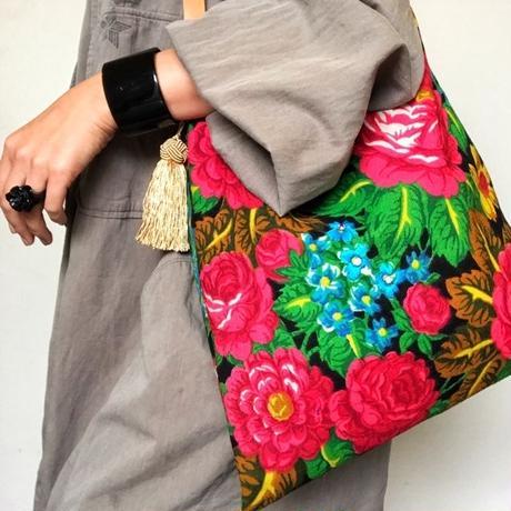 vintage scarf bag