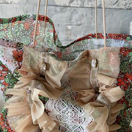 vintage  cloth  bag (c)
