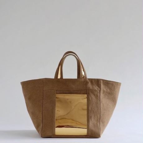 square canvas totebag (khaki)