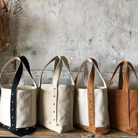 canvas tote bag medium (black&white)
