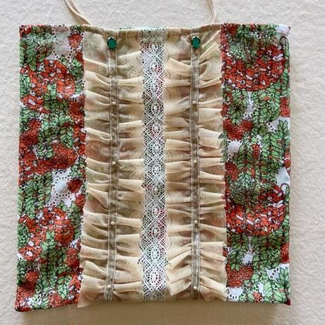 vintage  cloth  bag (b)