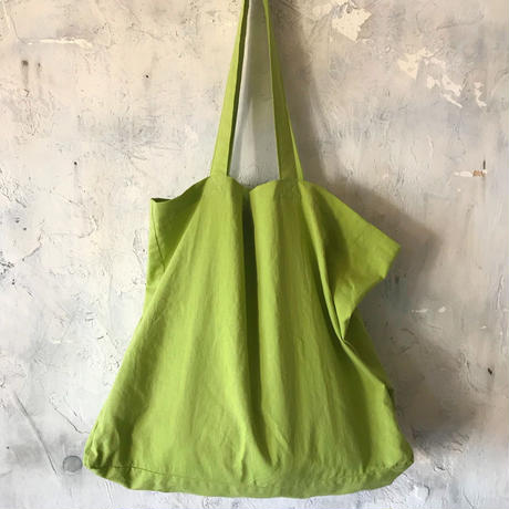 cotton linen bag (pistachio)
